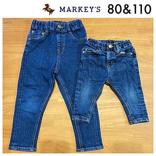 MARKEY'S - マーキーズ テーパードデニムパンツ 80 110 Ocean&Ground