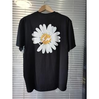 PEACEMINUSONE - 人気品PEACEMINUSONE ブラック Tシャツ メンズ