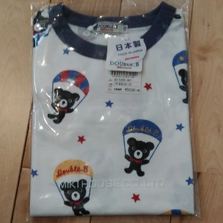 DOUBLE.B - 新品 DOUBLE.BパラシュートTシャツ110