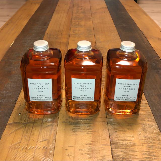 ニッカウヰスキー(ニッカウイスキー)のニッカ ウヰスキー 《 フロムザバレル 》  500ml  3本セット 食品/飲料/酒の酒(ウイスキー)の商品写真