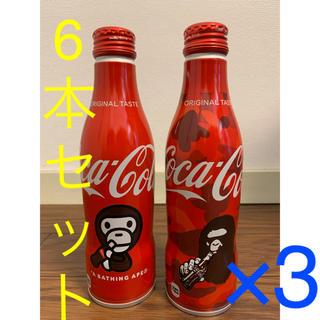 アベイシングエイプ(A BATHING APE)のBAPE コカ•コーラ 6本セット amazon限定 a bathing ape(ソフトドリンク)