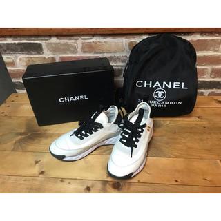 CHANEL - CHANEL☆シャネル ☆スニーカー☆靴☆38☆美品☆正規
