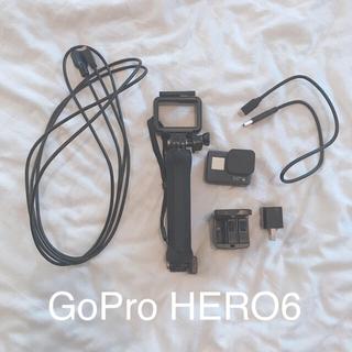 ゴープロ(GoPro)のGoPro HERO6 Black +アクセサリー(ビデオカメラ)