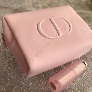 Dior - 【新品未使用】ディオール 2020限定 ふわふわ ポーチ コスメケース 新作