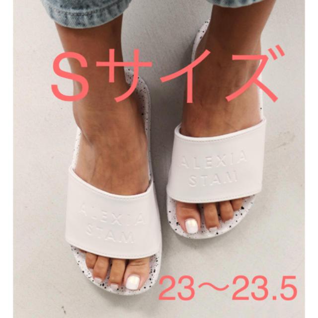 ALEXIA STAM(アリシアスタン)のALEXIA STAM Hand Painted Slide Sandals レディースの靴/シューズ(サンダル)の商品写真