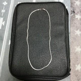 K18WG ネックレス 美品(ネックレス)