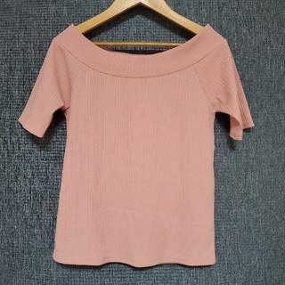 ワンウェイ(one*way)のone way ワンウェイ Tシャツ トップス サマーニット(Tシャツ(半袖/袖なし))