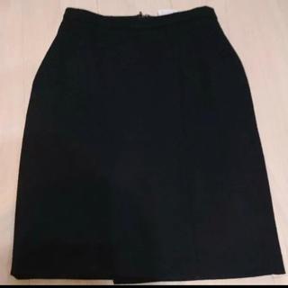 マックスマーラ(Max Mara)の【超美品】MAXMARA マックスマーラ 白タグ ネイビー スカート 高級(ひざ丈スカート)