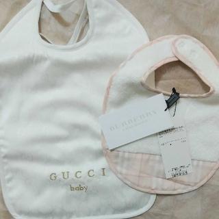 グッチ(Gucci)のスタイ GUCCI BURBERRY(ベビースタイ/よだれかけ)