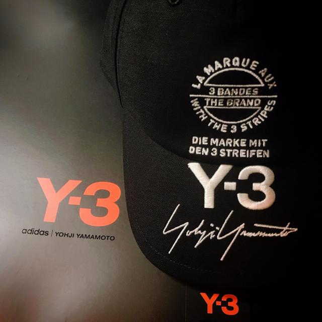 Y-3(ワイスリー)のY-3  ストリート ロゴ キャップ  メンズの帽子(キャップ)の商品写真