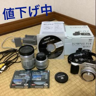 OLYMPUS - オリンパス PEN E-PL2 DOUBLE ZOOM KIT 中古 カメラ