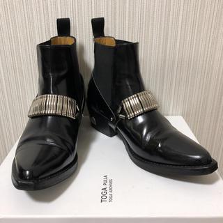 TOGA - 【美品】TOGA PULLA トーガ プルラ ブーツ ブラック 36