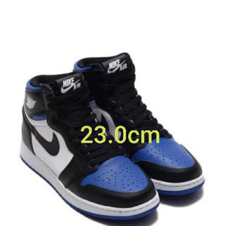 NIKE - SNKRS購入 新品未使用23cm AIR JORDAN 1 ROYAL TOE