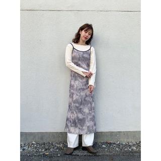 Kastane - ☆新品 完売色 kastane パワーネットタイダイキャミワンピース
