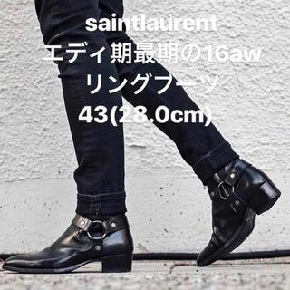 Saint Laurent - saintlaurent エディ期 リングブーツ