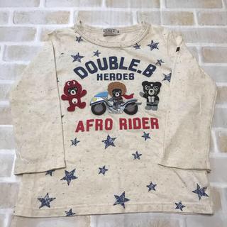 DOUBLE.B - DOUBLE.B  長袖 Tシャツ 100