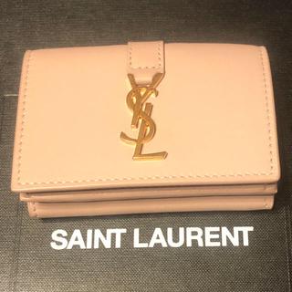 Saint Laurent - SAINT LAURENT ミニ財布