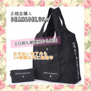 DEAN & DELUCA - 〚正規品〛DEAN&DELUCA エコバッグ 黒ショッピングバッグトートバッグ
