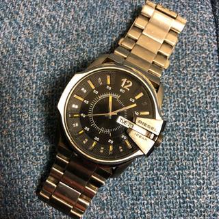 ディーゼル(DIESEL)のディーゼル diesel  腕時計 DZ1208 シルバー ブラック(腕時計(アナログ))