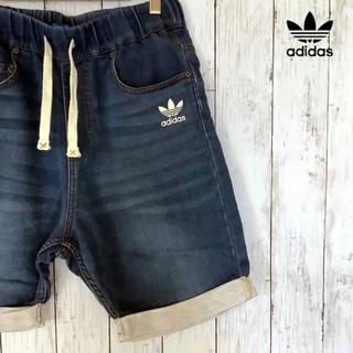 アディダス(adidas)のadidas レア物 ハーフパンツ デニムパンツ(ハーフパンツ)