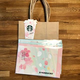 スターバックスコーヒー(Starbucks Coffee)の【限定品】スターバックスビバレッジカード3枚セット ショッパー付き(フード/ドリンク券)
