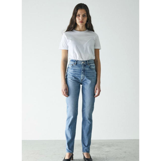 moussy - マウジーMOUSSY PLAIN JEANS STRAIGHT SLIM 24
