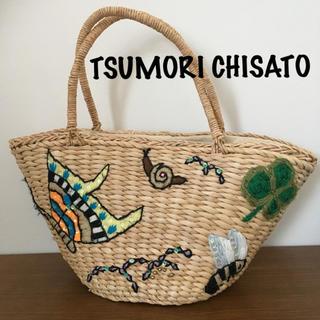 TSUMORI CHISATO - TSUMORI CHISATO ツモリチサト かごバッグ