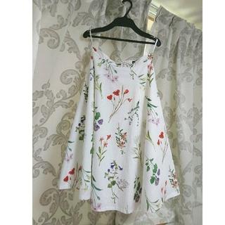 JUSGLITTY - ジャスグリッティー フラワースカート サイズ1