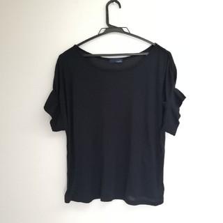 エージープラス(a.g.plus)のa.g.plus ◆デザインカットソー(カットソー(半袖/袖なし))
