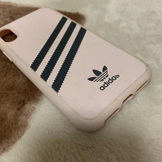 アディダス(adidas)の【adidas】iPhoneXRケース(iPhoneケース)