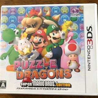 ニンテンドー3DS - PUZZLE&DRAGONS SUPER MARIO BROS.EDITION(