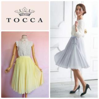 TOCCA - 【トッカ/TOCCA】洗える!DANCE スカート☆29700円◇美人百花掲載