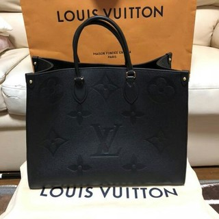 LOUIS VUITTON -  超希少 ルイヴィトン オンザゴーGM ブラック
