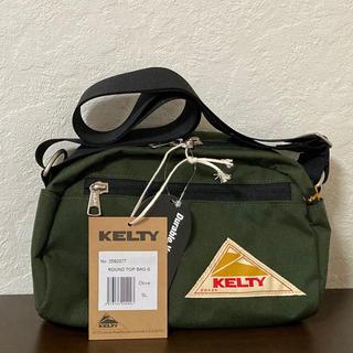 ケルティ(KELTY)の【新品・未使用】KELTY ROUND TOP BAG S  OLIVE(ボディーバッグ)