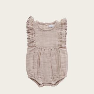 Caramel baby&child  - JAMIE KAY フリル袖プレイスーツ