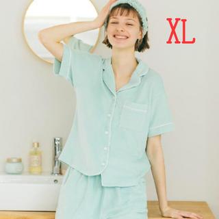 ジーユー(GU)の【XLサイズ】GU  SABONコラボ ミントパジャマ (パジャマ)
