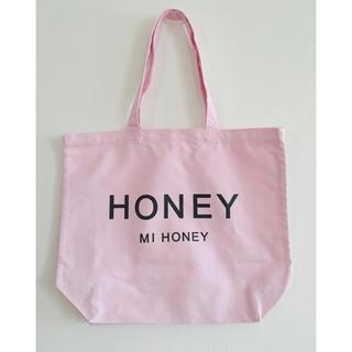 ハニーミーハニー(Honey mi Honey)のハニーミーハニー ロゴ トートバッグ ジェラートピケ ジルスチュアート(トートバッグ)