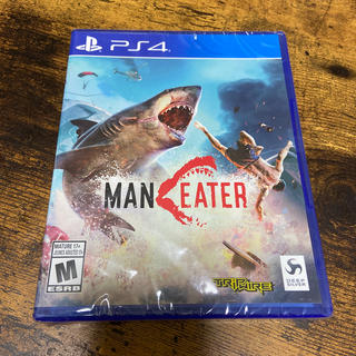 PlayStation4 - 【新品未開封】MANEATER PS4 【北米版・日本未発売】