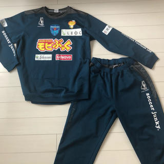 ATHLETA - ❤️サッカージャンキー 横浜FC 選手支給品ジャージ 非売品 トレーニングウェア