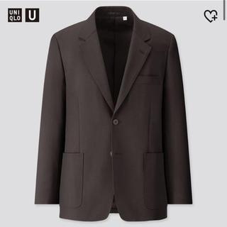 UNIQLO - 新品 UNIQLO U テーラードジャケット セットアップ可能 ブラック M
