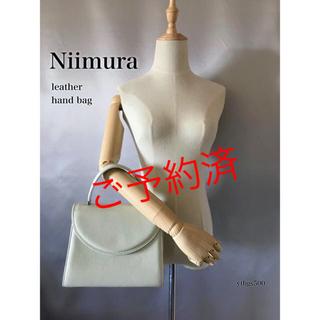 濱野皮革工藝/HAMANO - Niimura◆総本革製 ハンドバッグ フォーマルバッグ レザー 鞄◆レディース