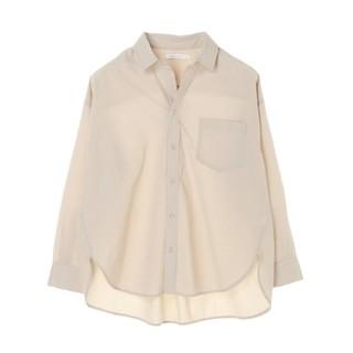 AMERICAN HOLIC バックタックポケット付きBIGシャツ L グレー(シャツ/ブラウス(長袖/七分))