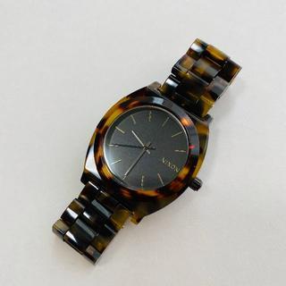 ニクソン(NIXON)のニクソン タイムテラー べっ甲 (調整コマ付き)(腕時計(アナログ))