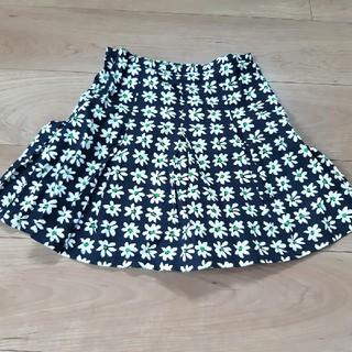 アニエスベー(agnes b.)のアニエスb 花柄 スカート 10ans(スカート)