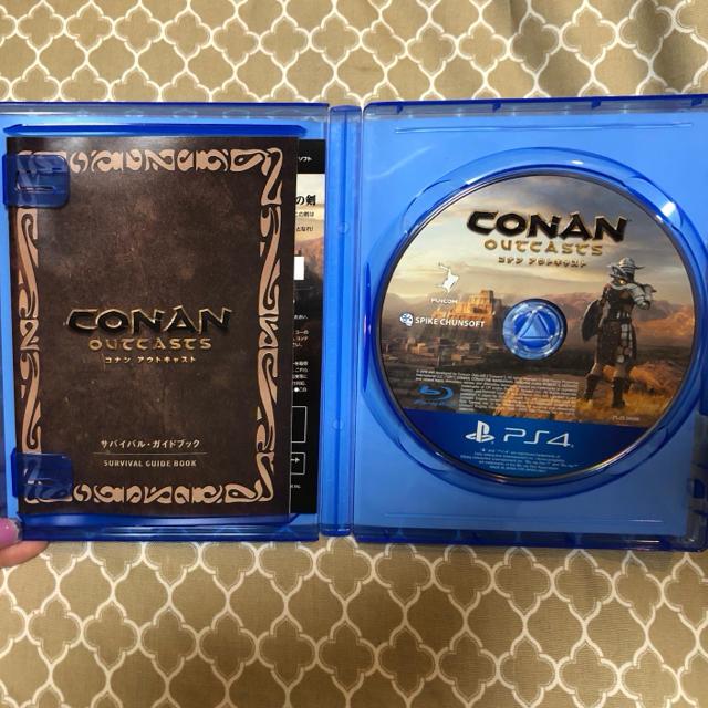 PlayStation4(プレイステーション4)のConan Outcasts(コナン アウトキャスト) PS4 エンタメ/ホビーのゲームソフト/ゲーム機本体(家庭用ゲームソフト)の商品写真