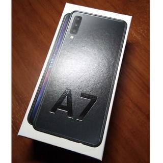 ギャラクシー(Galaxy)のGalaxy A7 (ブラック) 新品 未使用 未開封品(スマートフォン本体)