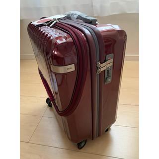 エース(ace.)のace エースのスーツケースレッド36リットル旅行用♡新品未使用キャリーケース (スーツケース/キャリーバッグ)