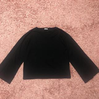 ジーユー(GU)のTシャツ トップス(Tシャツ(長袖/七分))