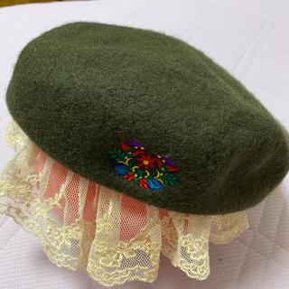 チチカカ(titicaca)のチチカカ ベレー帽(ハンチング/ベレー帽)