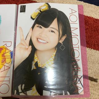 エイチケーティーフォーティーエイト(HKT48)のHKT48 本村碧唯 生写真ポスター(アイドルグッズ)
